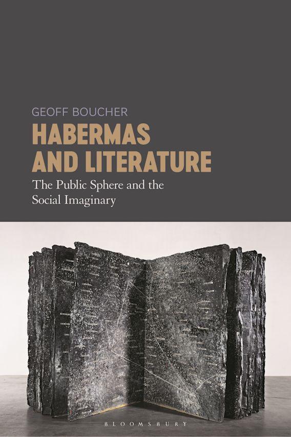 Habermas and Literature cover