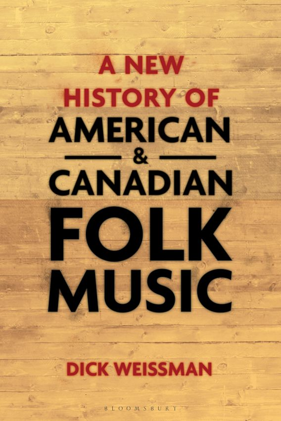 A New History of American and Canadian Folk Music cover