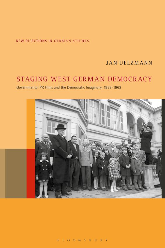 Staging West German Democracy cover