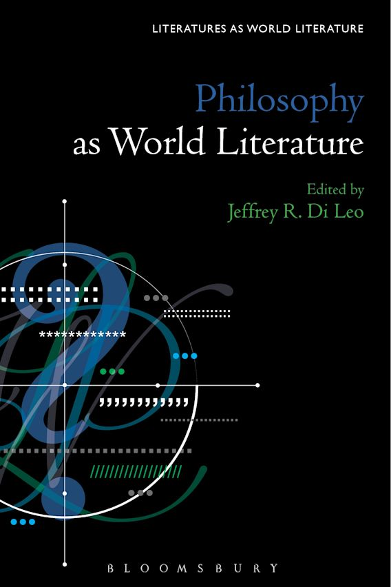 Philosophy as World Literature cover