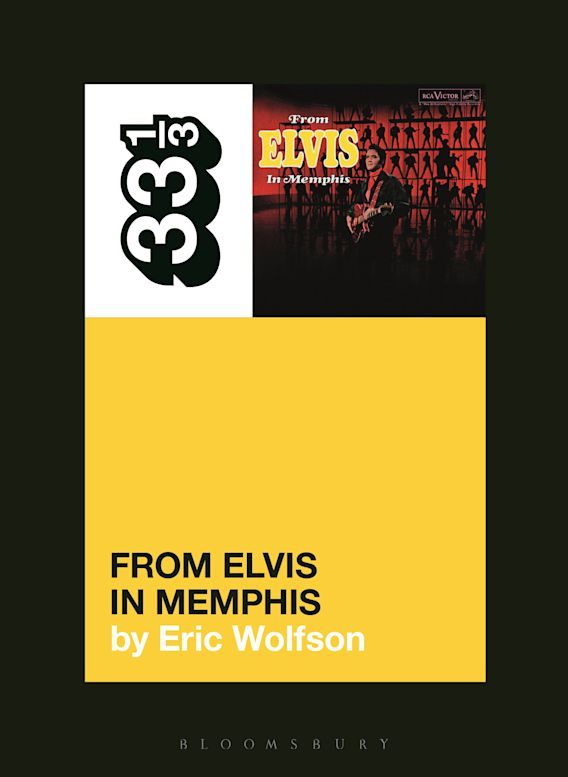 Elvis Presley's From Elvis in Memphis cover