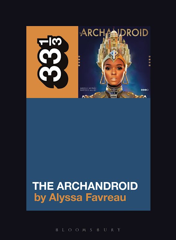 Janelle Monáe's The ArchAndroid cover