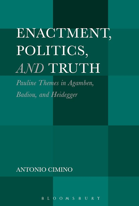 Enactment, Politics, and Truth cover