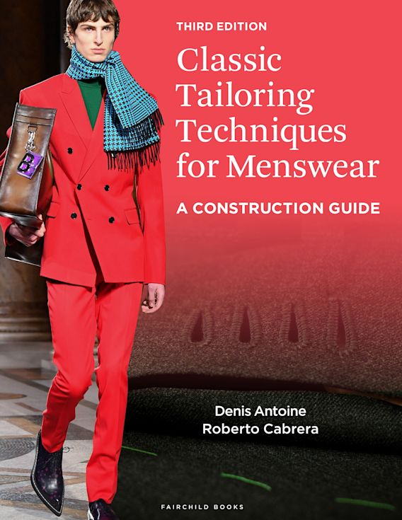 Classic Tailoring Techniques for Menswear cover