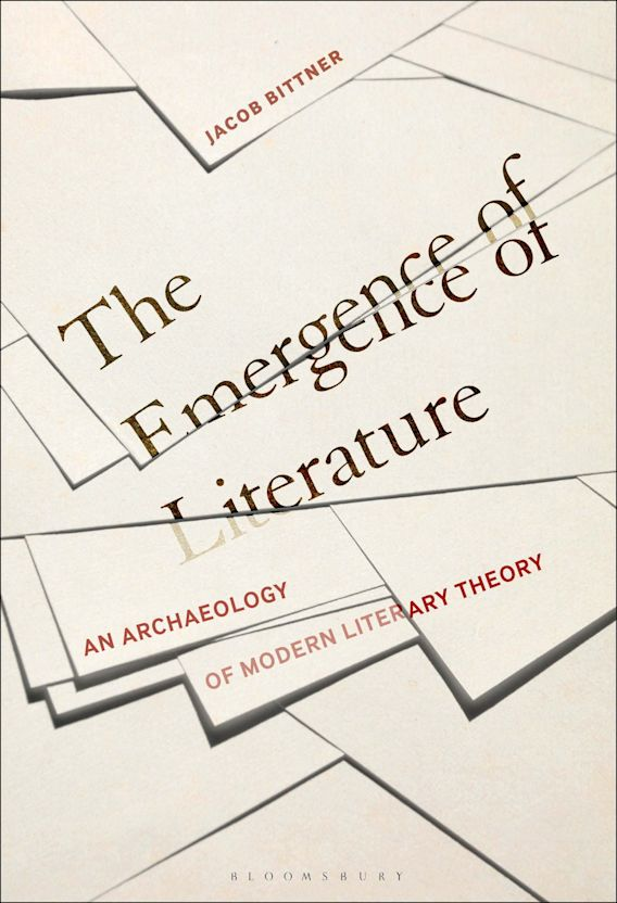 The Emergence of Literature cover