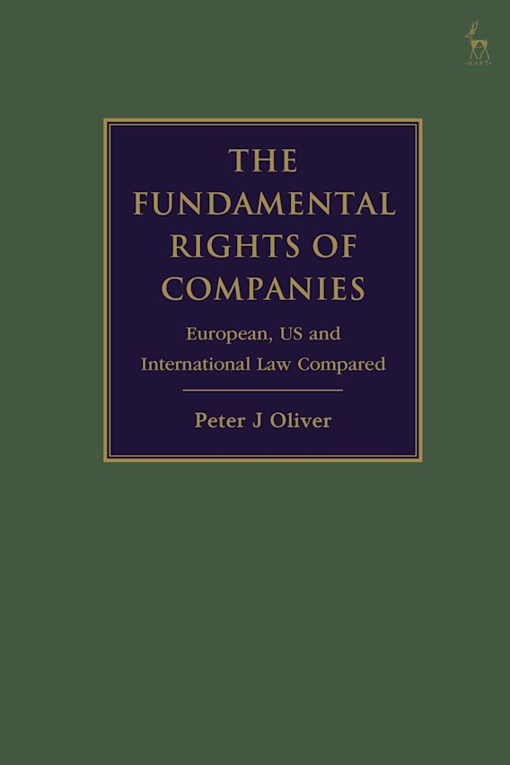 The Fundamental Rights of Companies cover