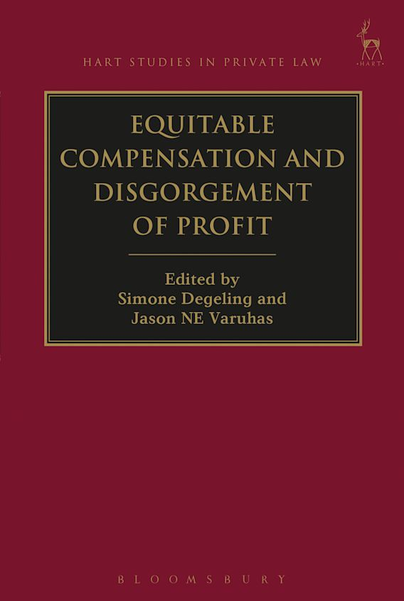 Equitable Compensation and Disgorgement of Profit cover