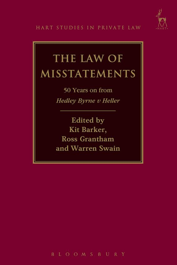 The Law of Misstatements cover