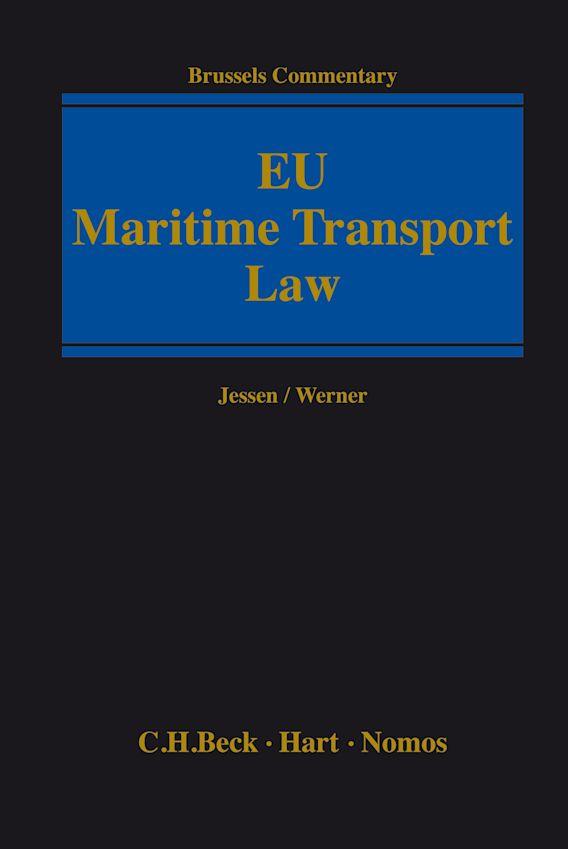 EU Maritime Transport Law cover