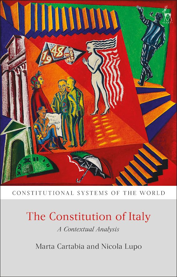The Constitution of Italy cover