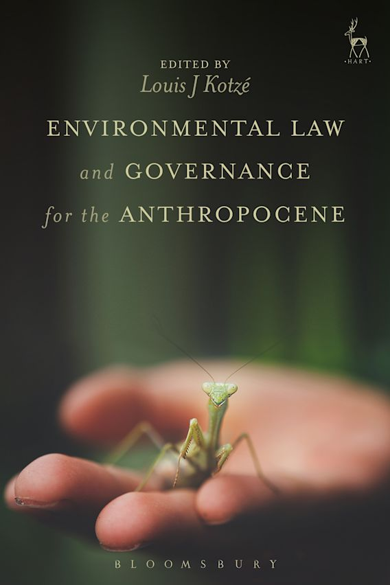Environmental Law and Governance for the Anthropocene cover