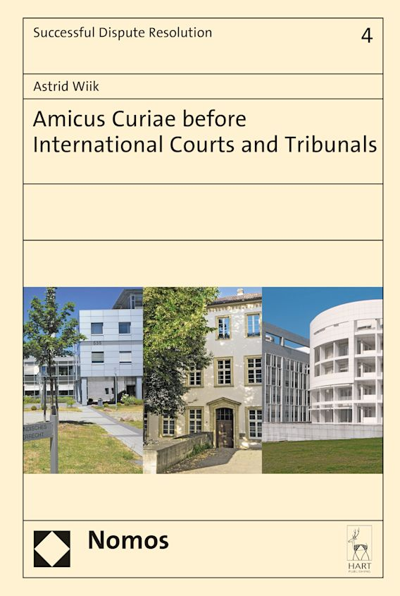 Amicus Curiae Before International Courts and Tribunals cover