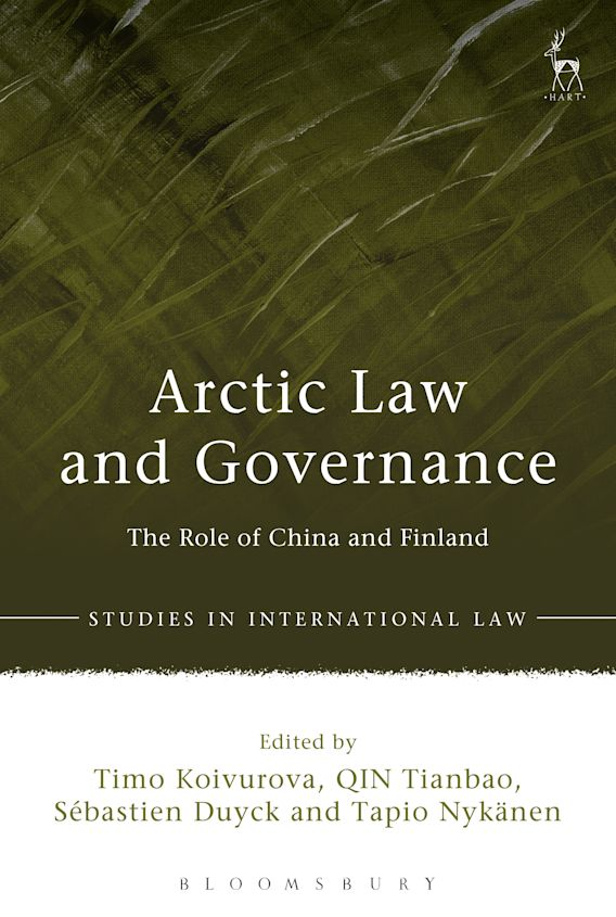 Arctic Law and Governance cover