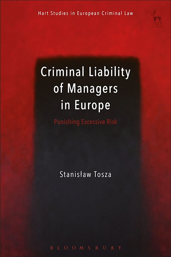 Criminal Liability of Managers in Europe cover