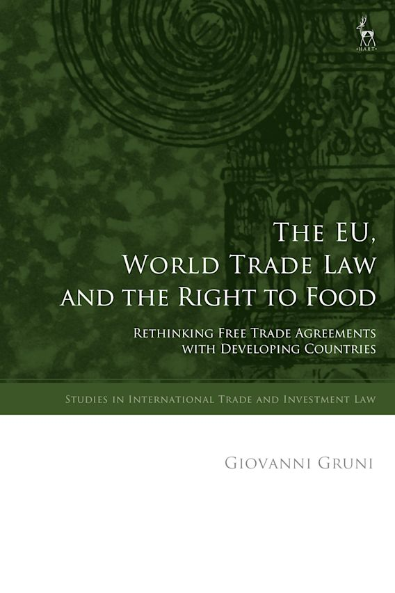 The EU, World Trade Law and the Right to Food cover