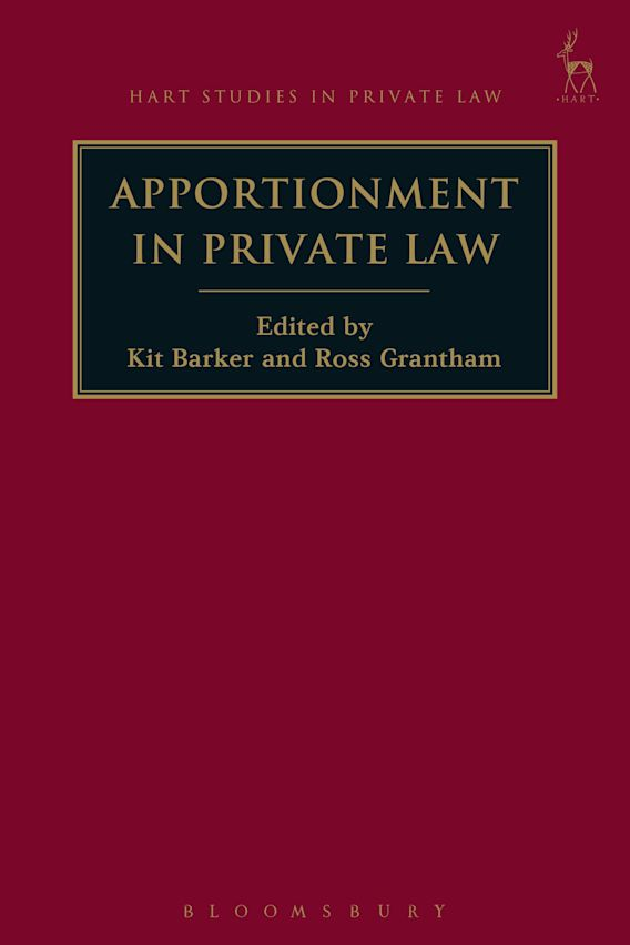 Apportionment in Private Law cover