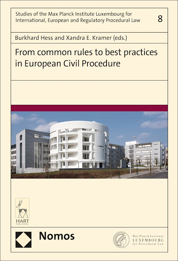 From Common Rules to Best Practices in European Civil Procedure cover
