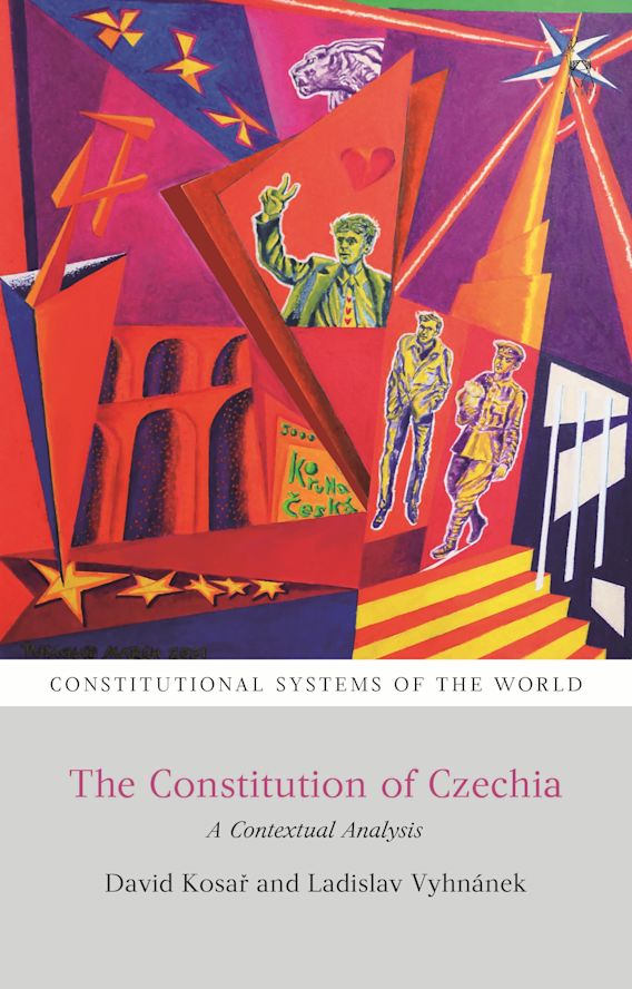 The Constitution of Czechia cover