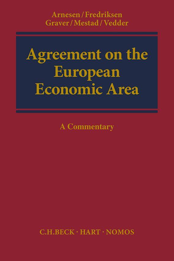 Agreement on the European Economic Area cover