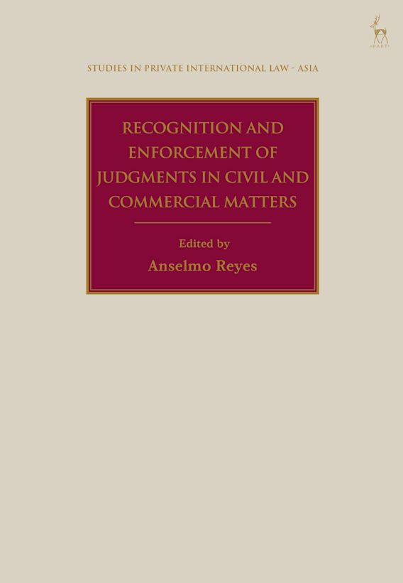Recognition and Enforcement of Judgments in Civil and Commercial Matters cover