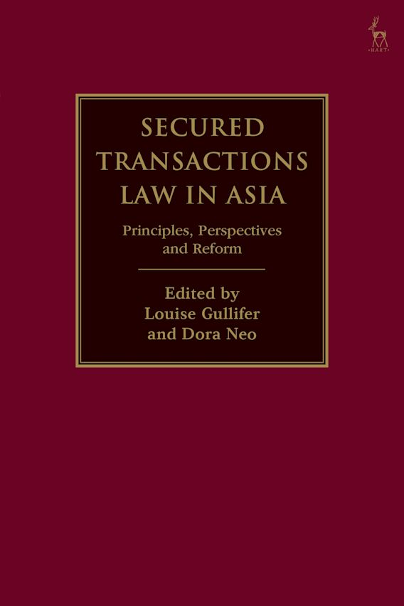 Secured Transactions Law in Asia cover
