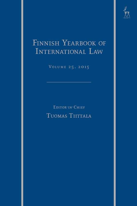 Finnish Yearbook of International Law, Volume 25, 2015 cover