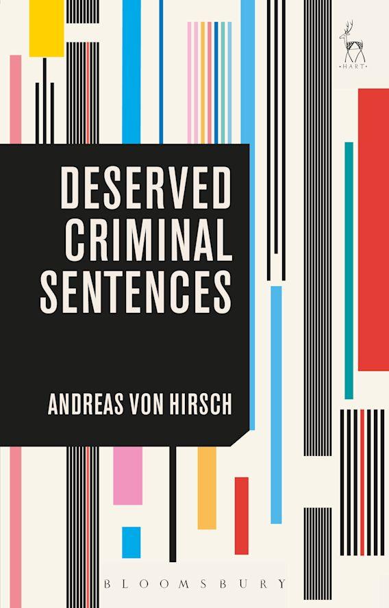 Deserved Criminal Sentences cover