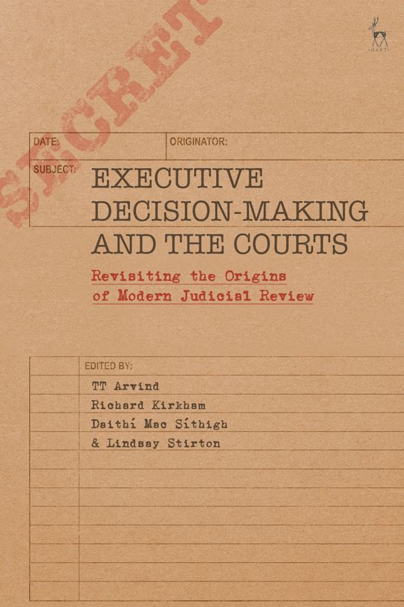 Executive Decision-Making and the Courts cover