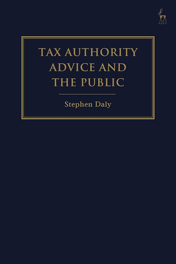 Tax Authority Advice and the Public cover