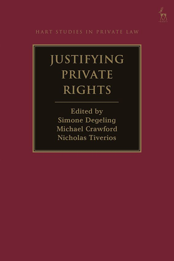 Justifying Private Rights cover