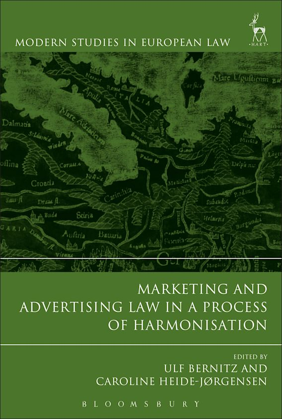Marketing and Advertising Law in a Process of Harmonisation cover