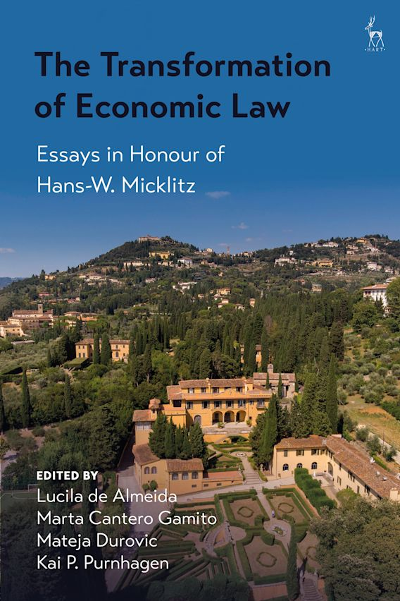 The Transformation of Economic Law cover