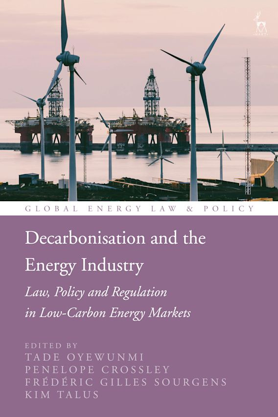 Decarbonisation and the Energy Industry cover