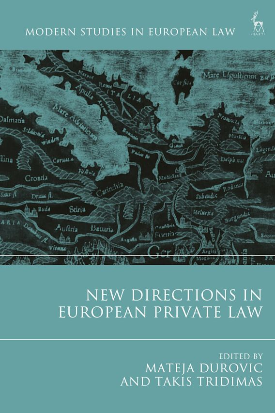 New Directions in European Private Law cover