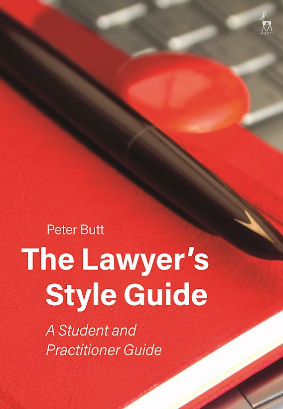 The Lawyer's Style Guide cover