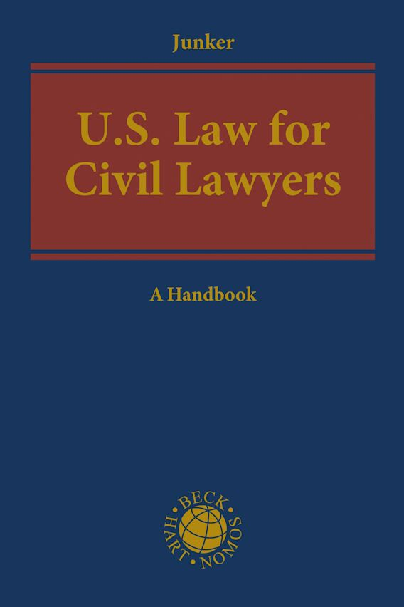 US Law for Civil Lawyers cover