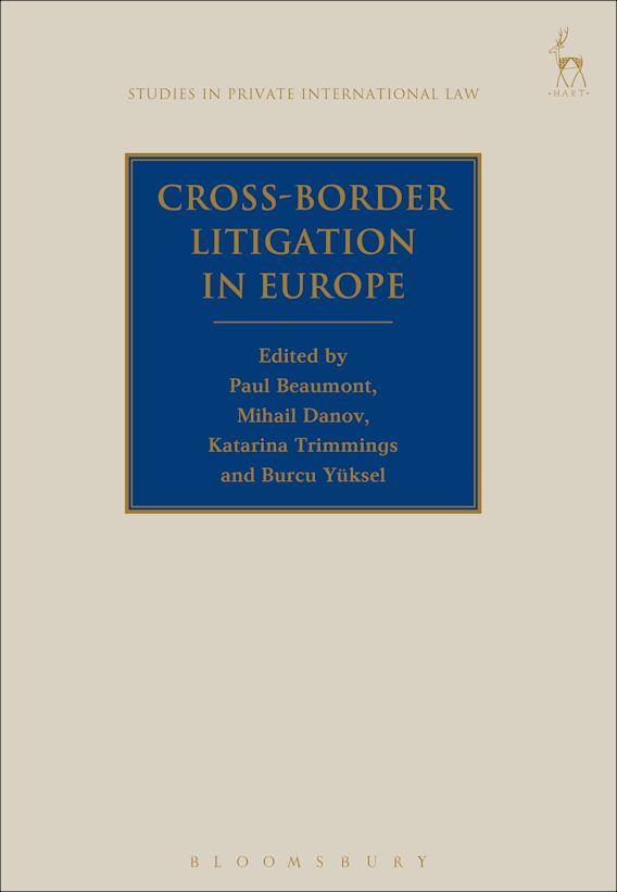 Cross-Border Litigation in Europe cover