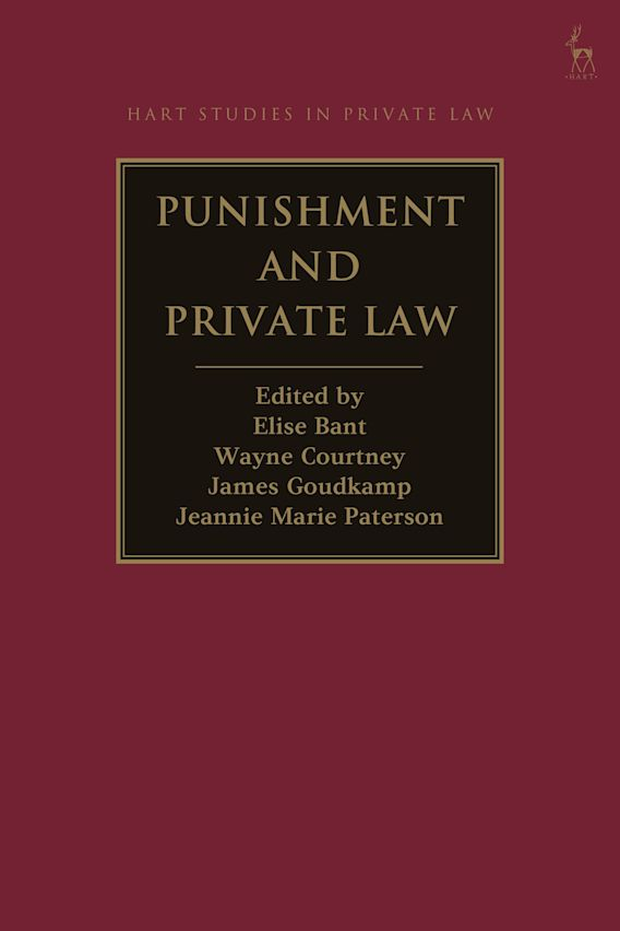 Punishment and Private Law cover