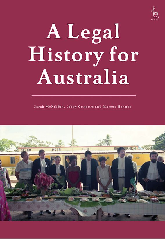 A Legal History for Australia cover