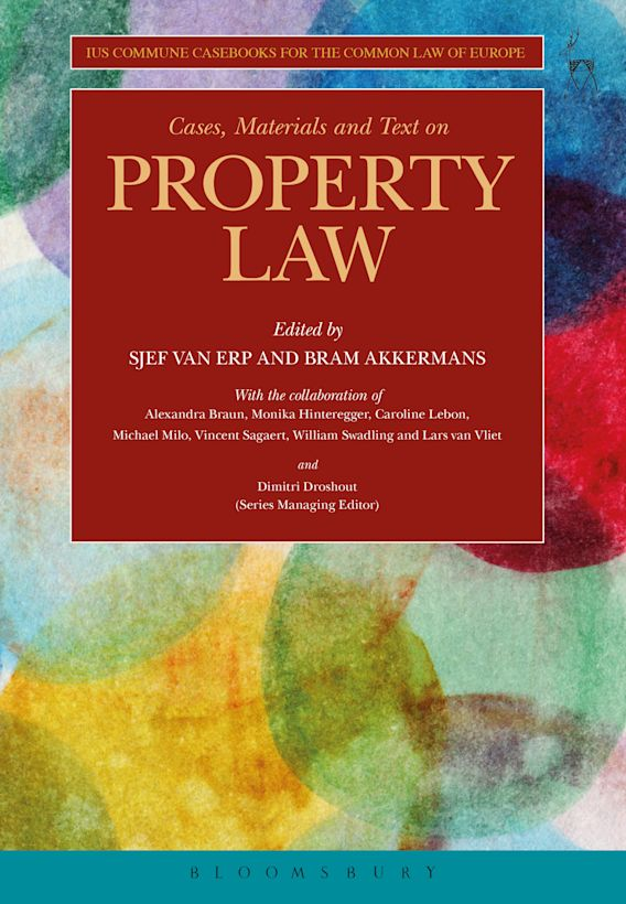 Cases, Materials and Text on Property Law cover
