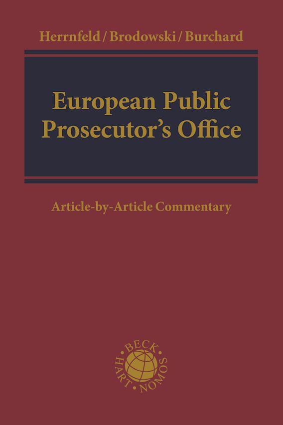 European Public Prosecutor's Office cover