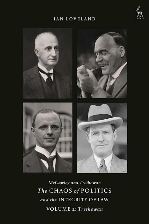 McCawley and Trethowan - The Chaos of Politics and the Integrity of Law - Volume 2 cover