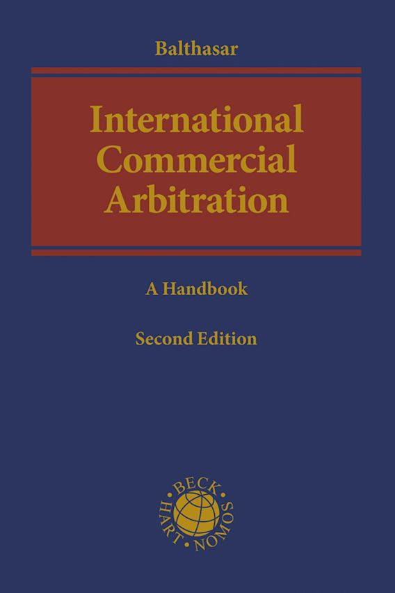 International Commercial Arbitration cover