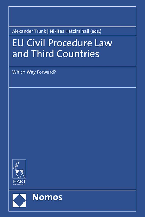 EU Civil Procedure Law and Third Countries cover