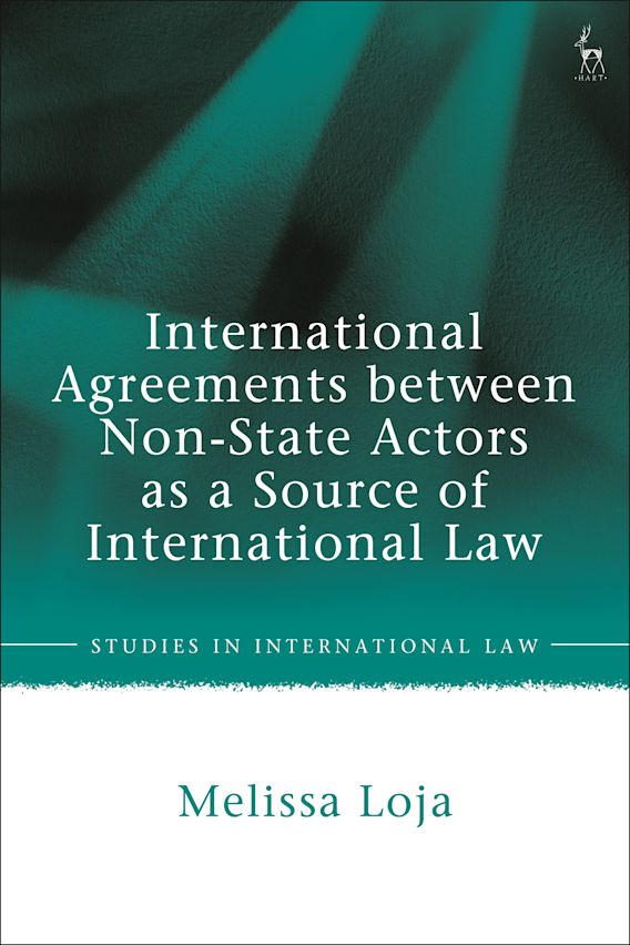 International Agreements between Non-State Actors as a Source of International Law cover