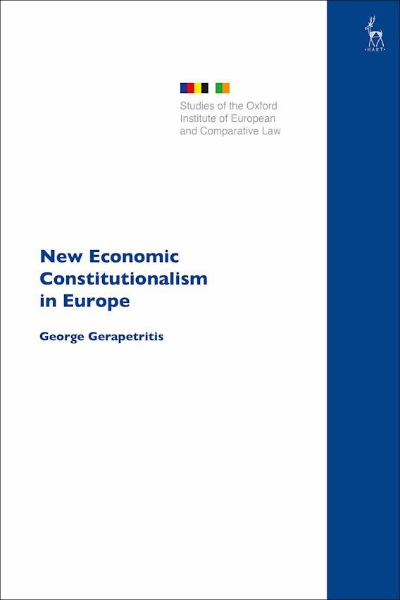 New Economic Constitutionalism in Europe cover
