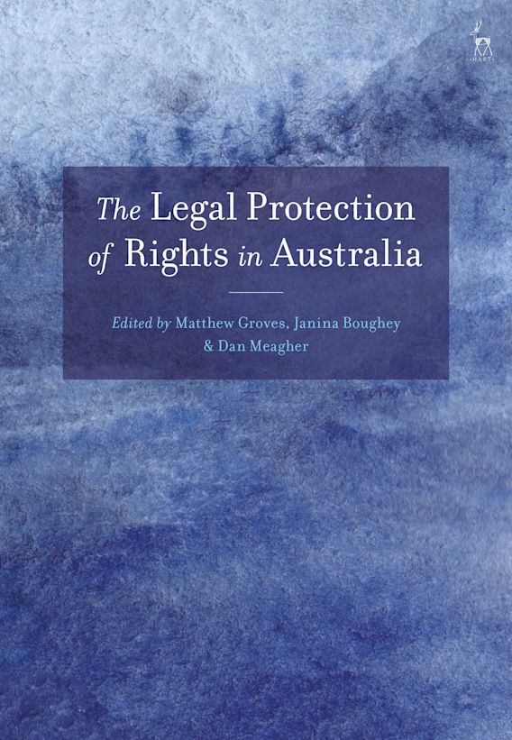 The Legal Protection of Rights in Australia cover