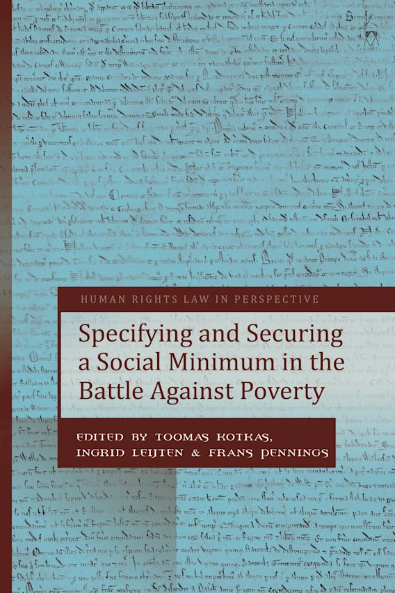 Specifying and Securing a Social Minimum in the Battle Against Poverty cover