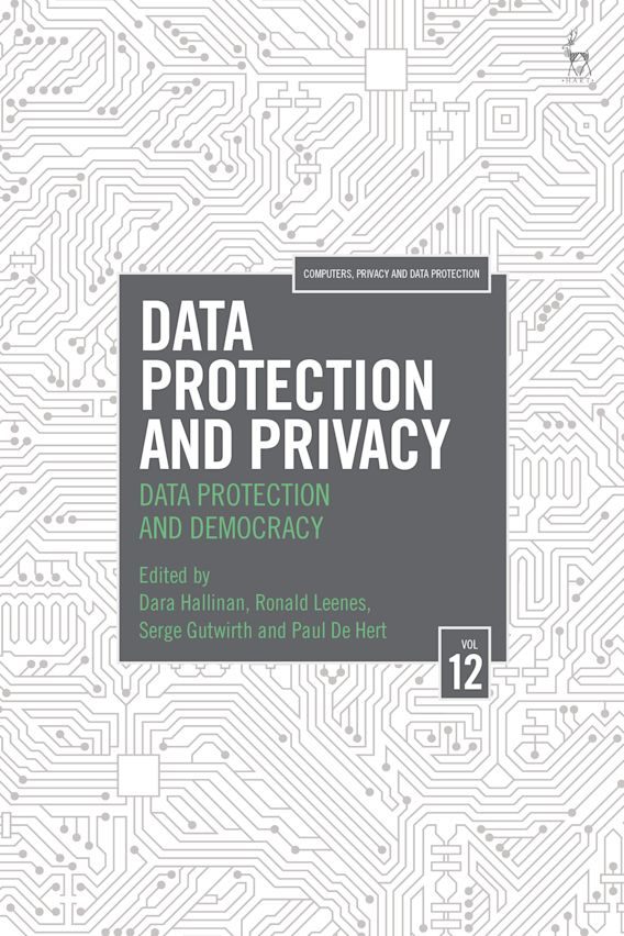 Data Protection and Privacy, Volume 12 cover