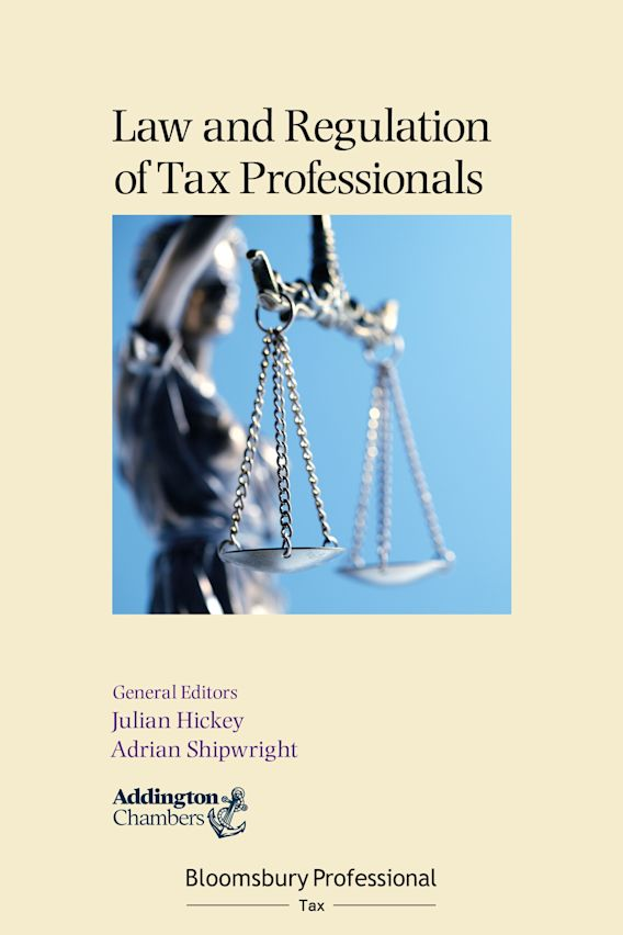 Law and Regulation of Tax Professionals cover